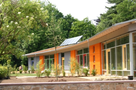 Picture: Passive house example Kindergarten Doebeln