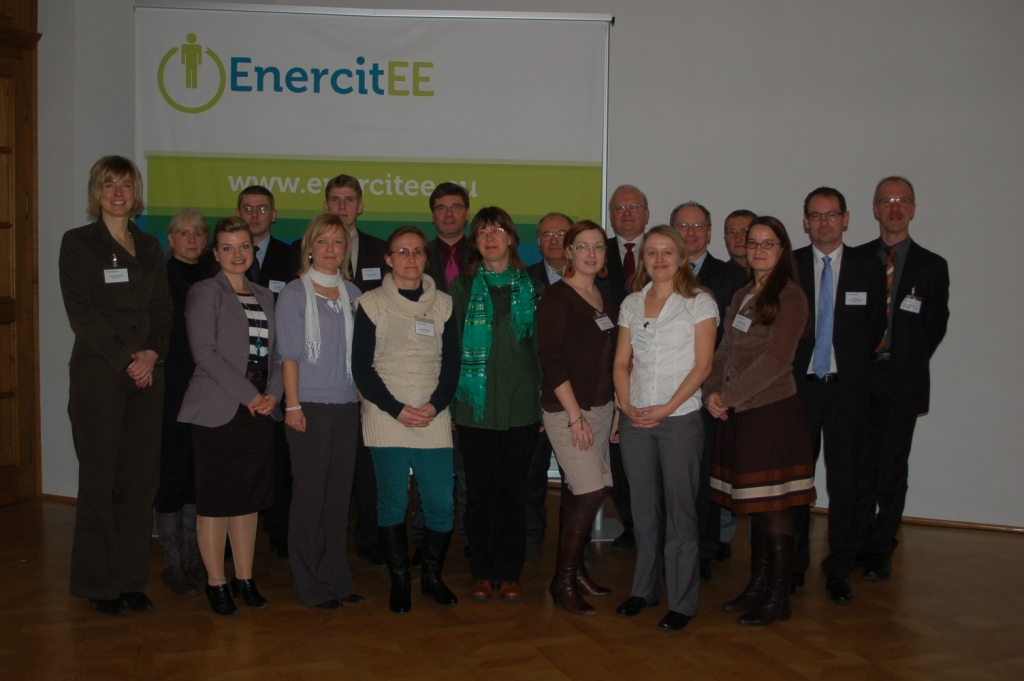Picture: EnercitEE members and Mr. Kupfer