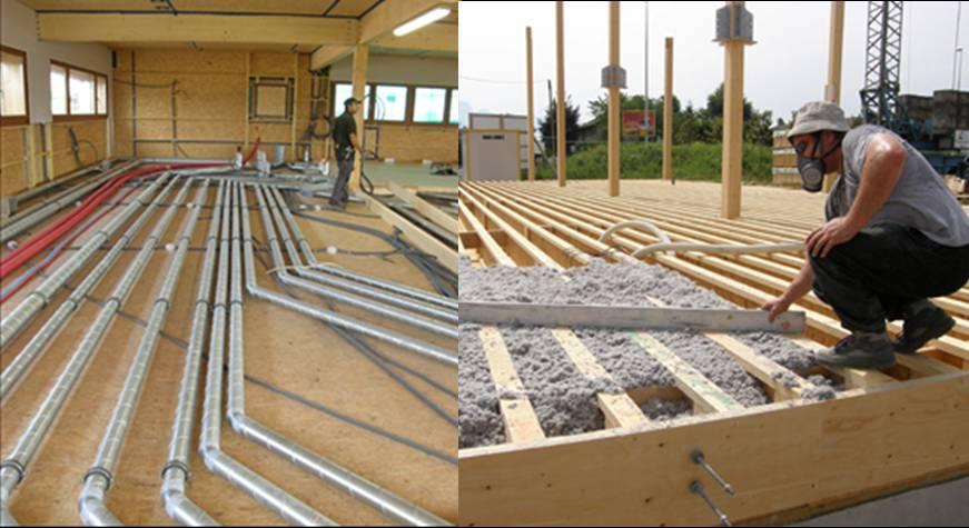 Building Construction Practices : Eco office building