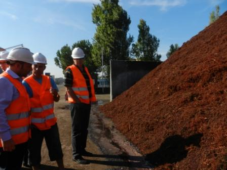 Picture: Study visit at Caviro plant Bologna Sept. 2011