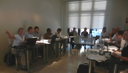 Picture: Joint WG/SG session Bologna Sept. 2011