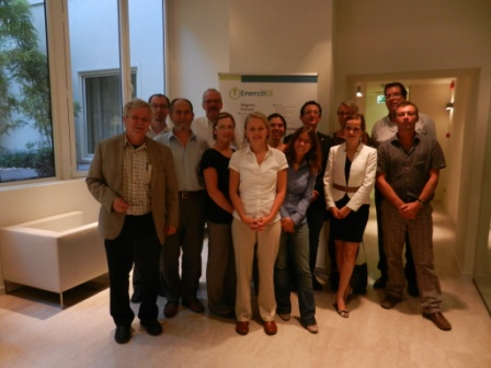 Picture: EnercitEE members in Bologna Sept. 2011